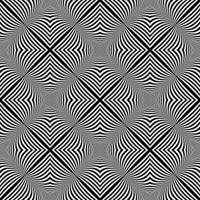 Vinilo Diseño de fondo ilusión monocromo transparente