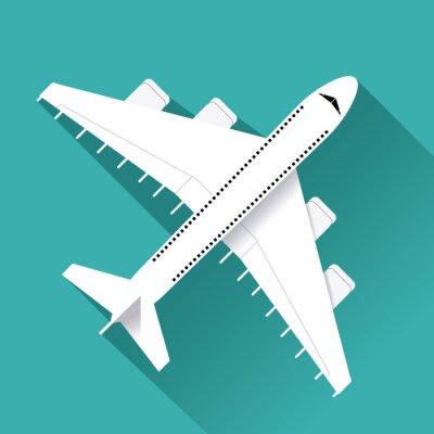 Vinilo Diseño de iconos de avión
