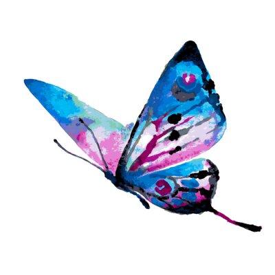Vinilo diseño de mariposas