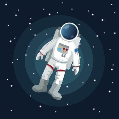 Vinilo Diseño del icono del espacio