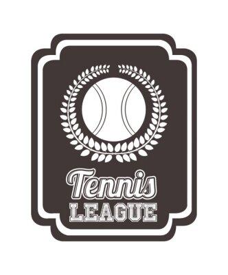Vinilo Diseño liga tenis
