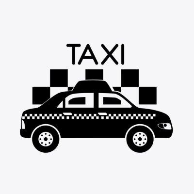 Vinilo Diseño Taxi.