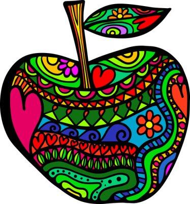 Vinilo Doodle de Apple