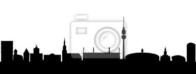 Vinilo Dortmund Skyline