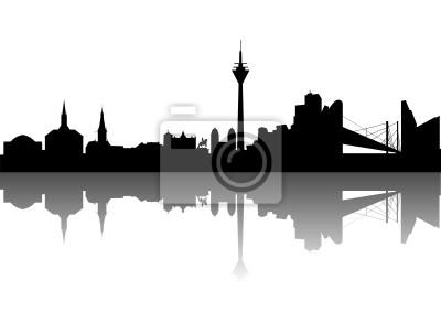 Dusseldorf en el Rin