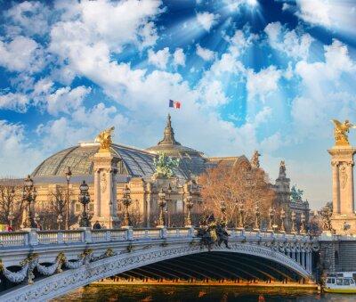 Vinilo Edificios y monumentos de París