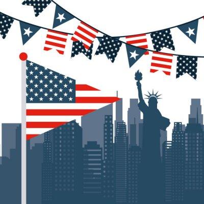 Vinilo EE.UU. emblema