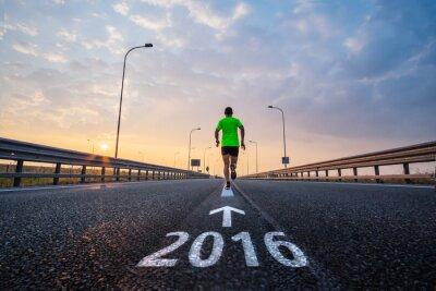 Vinilo Ejecutar en año nuevo 2016