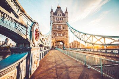 Vinilo El Tower Bridge en Londres