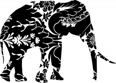 Vinilo Elefante Gráfico