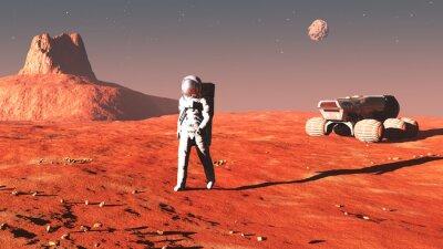 Vinilo en Marte