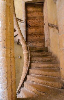 Vinilo Escaliers renacimiento à Lyon