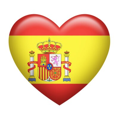Vinilo Español Insignia Heartshape