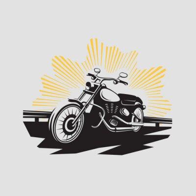 Vinilo Etiqueta de la motocicleta