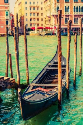 Vinilo Famoso Góndola de Venecia