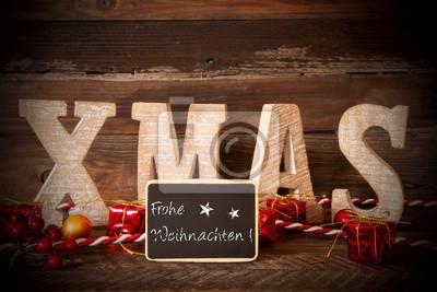 Vinilo Feliz Navidad