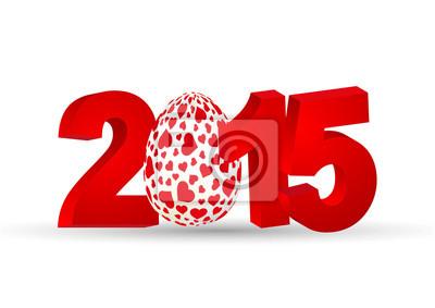 Vinilo Feliz Pascua 2015