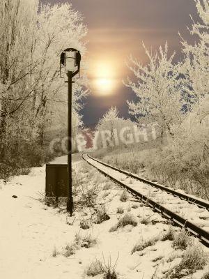 Vinilo Ferrocarril abandonado