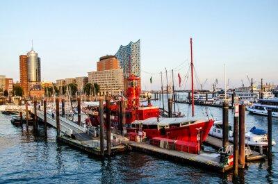 Vinilo Feuerschiff und Hafencity