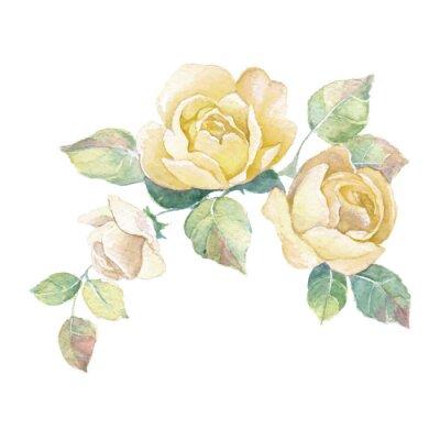Vinilo Floral rama 2 en el vector