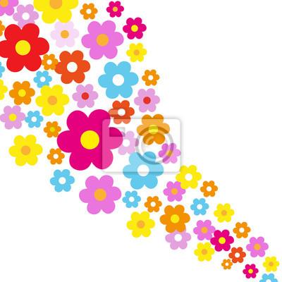Vinilo Flores del fondo
