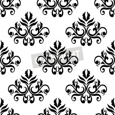 Foliadas fondo patr n transparente en colores blanco y - Papel de pared blanco y negro ...