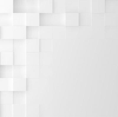 Vinilo Fondo cuadrado de mosaico. Diseño de portada minimalista geométrico abstracto. Gráfico vectorial.