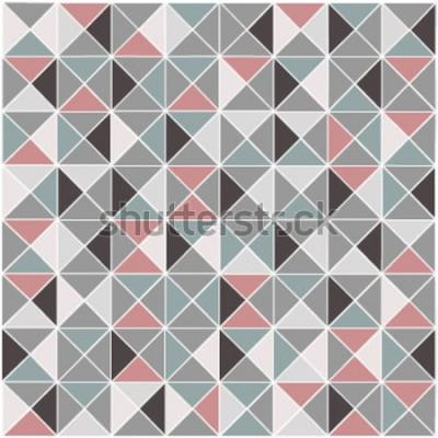 Vinilo Fondo de color de trama geométrica rombo transparente de trama