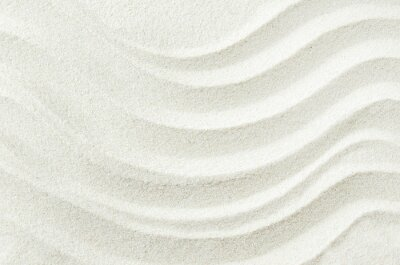Vinilo Fondo de textura de arena blanca con patrón de onda