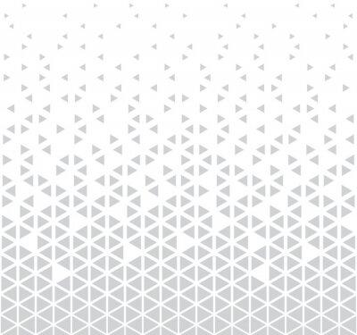 Vinilo Fondo de vector abstracto sin fisuras patrón geométrico triángulo