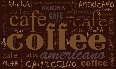 Vinilo Fondo del café