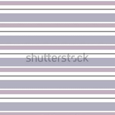 Vinilo Fondo geométrico abstracto del vector. Rayas horizontales. Impresión para diseño de interiores y tela