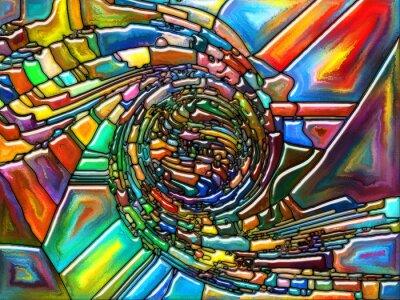 Vinilo Fragmentación conceptual