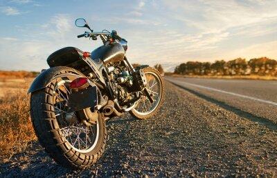 Vinilo Freedom.Motorbike under sky