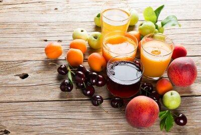 Vinilo  Fresh fruits juices