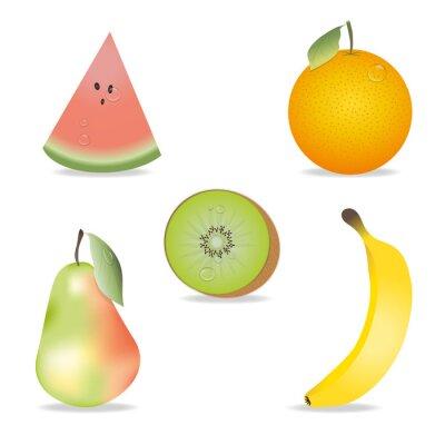 Vinilo Fruit Collection