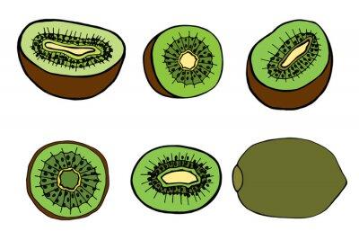 Vinilo fruit kiwi