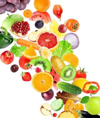 Vinilo Frutas y vegetales