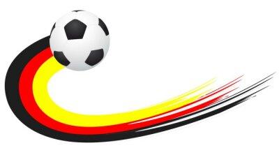Vinilo Fussball - Alemania