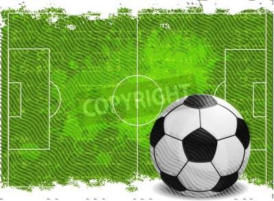 Vinilo Fútbol diseño de fondo