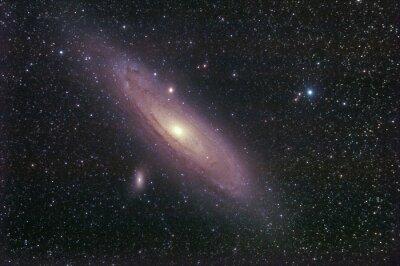 Vinilo galassia la di Andromeda