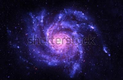 Vinilo Galaxia espiral: elementos de esta imagen proporcionados por la NASA