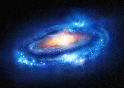 Vinilo Galaxy supermasivo