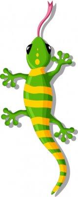 Vinilo Gecko de dibujos animados para que el diseño