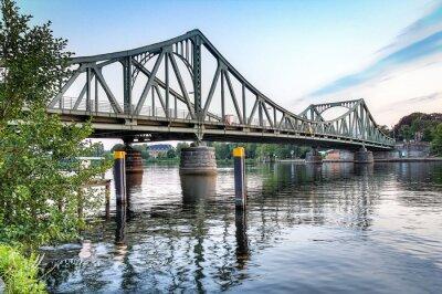 Vinilo Glienicker Brücke Potsdam / Berlin