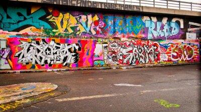 Vinilo Graffitti Wall