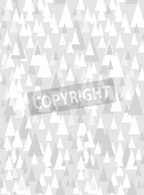 Vinilo Gris patrón transparente con triángulos decorativos y espacio de la copia