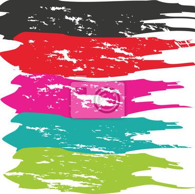 Vinilo Grunge Cepillo Accidente. Movimiento Del Cepillo Del Vector. Movimiento Apretado Del Cepillo. Pincelada. Movimiento Textured Moderno Del Cepillo. Movimiento Del Cepillo Seco.