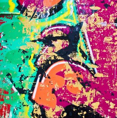 Vinilo Grunge fondo de colores de metal
