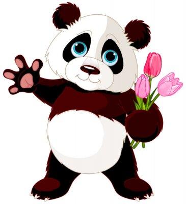 Vinilo Happy Panda